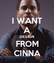 I WANT A DESIGN FROM CINNA - Personalised Poster large