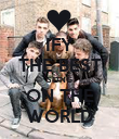 IFY THE BEST SONG ON THE WORLD - Personalised Poster large