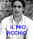 IL MIO PICCHIO - Personalised Poster large