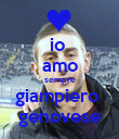 io  amo sempre giampiero  genovese - Personalised Large Wall Decal