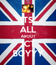 ITS  ALL ABOUT ICT BOYYY - Personalised Poster small