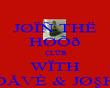 JØÏÑ THË HØÕð ÇLÛB WÏTH ÐÅVÈ & JاH - Personalised Poster large