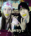 Jaitlin For  All  The  Always - Personalised Poster large