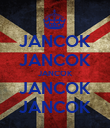 JANCOK JANCOK JANCOK JANCOK JANCOK - Personalised Poster small