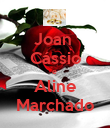 Joan  Cássio e  Aline Marchado - Personalised Poster large