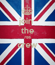 join  the 786 crew  - Personalised Poster large