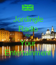 Jordingle Radio For Your Entertainment - Personalised Poster large