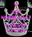 JUST KNOW THAT BEAUTY IS NEVER HIDDEN - Personalised Poster large