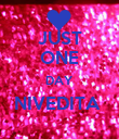 JUST ONE DAY NIVEDITA   - Personalised Poster large