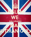 KALEM WE  DA URANG  MAH BUTIRAN GULA - Personalised Poster large