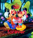Katia es a minha  Vida forever - Personalised Poster large