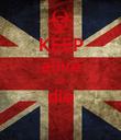 KEEP alive or die  - Personalised Poster large