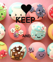 KEEP   AND   - Personalised Poster large