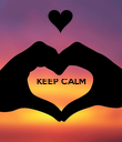 KEEP CALM   - Personalised Poster large