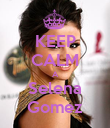 KEEP CALM A Selena Gomez - Personalised Poster large