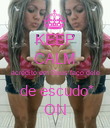 KEEP CALM acredito em Deus faço dele  de escudo* ON - Personalised Large Wall Decal