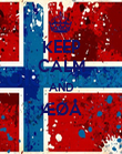 KEEP CALM AND ÆØÅ  - Personalised Large Wall Decal