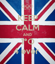 KEEP CALM AND 1°O 4 ever  - Personalised Poster large