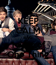 KEEP CALM AND 1 year of One Thing - Personalised Poster large