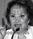 KEEP CALM AND 2 mil 35 mil doscientes - Personalised Poster large