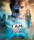 KEEP CALM AND <3 JOHREN - Personalised Poster large