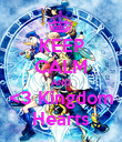 KEEP CALM AND <3 Kingdom Hearts - Personalised Poster large