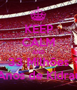 KEEP CALM AND 33 Milhões 6 Anos de Kidrauhl - Personalised Poster large