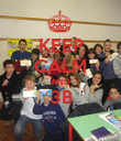 KEEP CALM AND 3B  - Personalised Poster large
