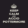 KEEP CALM AND ACCIO POTTERMORE - Personalised Poster large
