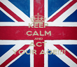 KEEP CALM AND ACT  YOUR AGE!!!! - Personalised Poster large