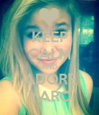 KEEP CALM AND ADORE YARO - Personalised Poster large
