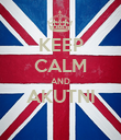 KEEP CALM AND AKUTNI  - Personalised Poster large