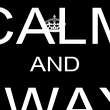 KEEP CALM AND ALWAYS SPAM - Personalised Poster large