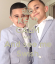 KEEP CALM AND And see me Swish - Personalised Poster large
