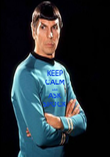 KEEP CALM AND ASK SPOCK - Personalised Poster large