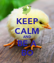 KEEP CALM AND BE A BO - Personalised Poster large