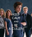 KEEP CALM AND BE A CULLEN - Personalised Poster large