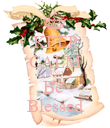 KEEP CALM AND Be  Blessed - Personalised Poster large