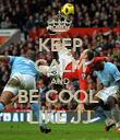 KEEP CALM AND BE COOL  LIKE JJ - Personalised Poster large
