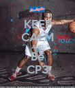 KEEP CALM AND Be CP3 - Personalised Poster large