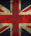 KEEP CALM AND BE IUBIBIL - Personalised Poster large