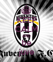 KEEP CALM AND be juve - Personalised Poster large