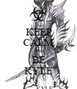 KEEP CALM AND BE KYLE - Personalised Poster large