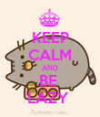 KEEP CALM AND BE  LAZY  - Personalised Poster large