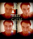 KEEP CALM AND BE MCG - Personalised Poster large