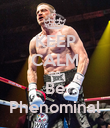 KEEP CALM and  Be Phenominal - Personalised Poster large