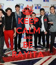 KEEP CALM AND BE RAYITA - Personalised Poster large