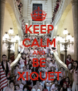 KEEP CALM AND BE XIQUET - Personalised Poster large