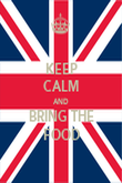 KEEP CALM AND BRING THE FOOD - Personalised Poster large