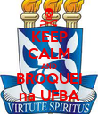 KEEP CALM AND BROQUEI na UFBA - Personalised Poster large
